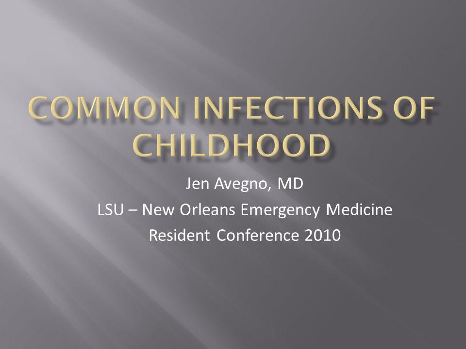 Jen Avegno, MD LSU – New Orleans Emergency Medicine Resident Conference 2010