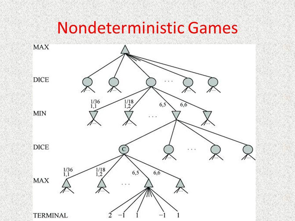 Nondeterministic Games