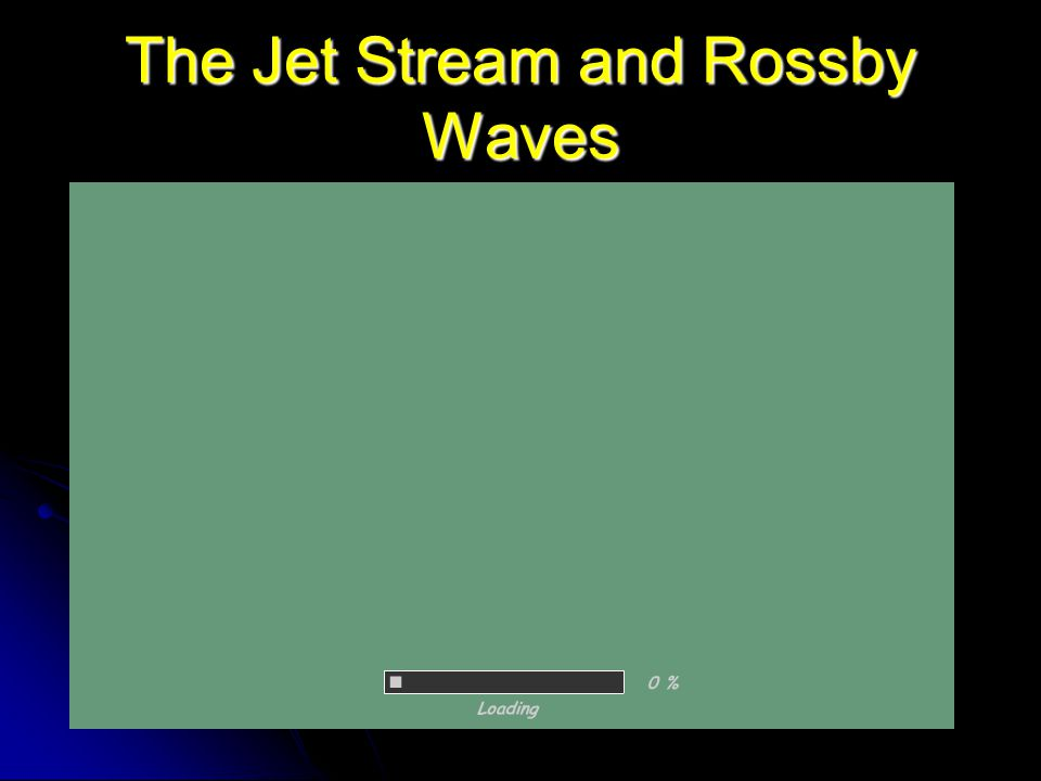 The Jet Stream and Rossby Waves