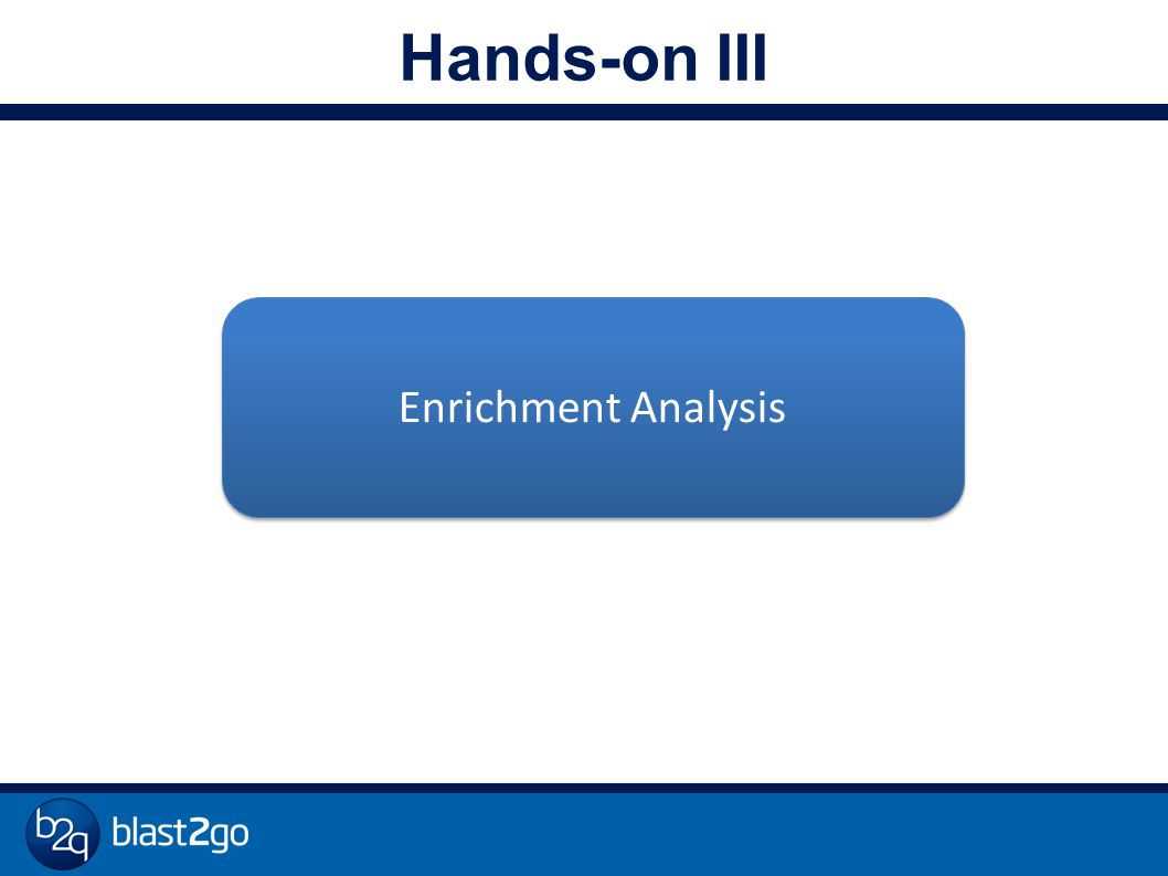 Hands-on III Enrichment Analysis