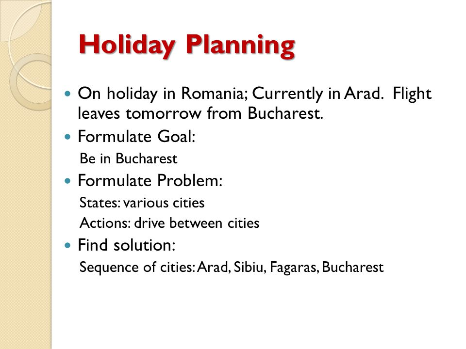 Holiday Planning On holiday in Romania; Currently in Arad.