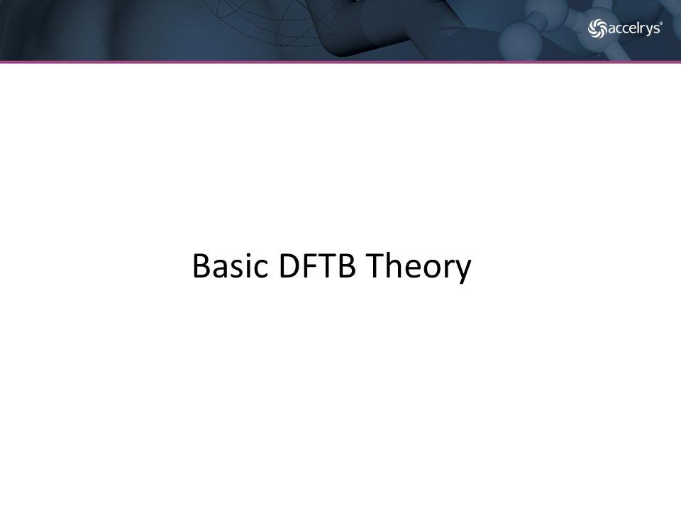 Basic DFTB Theory
