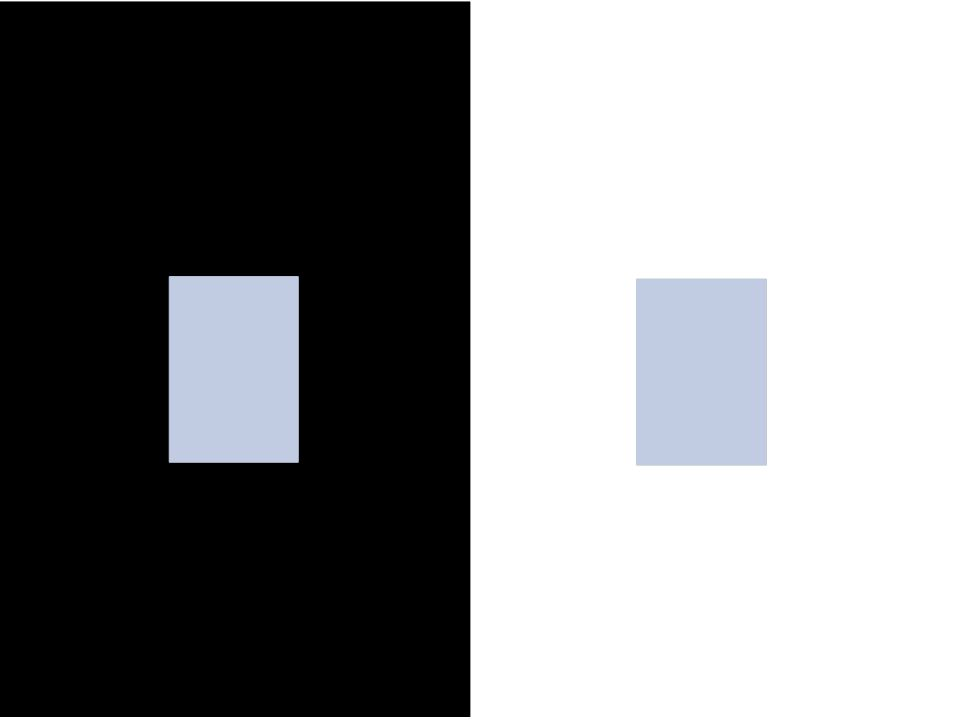 The visual system is so wired to see edges, it detect them when there is very little information to specify the edge.