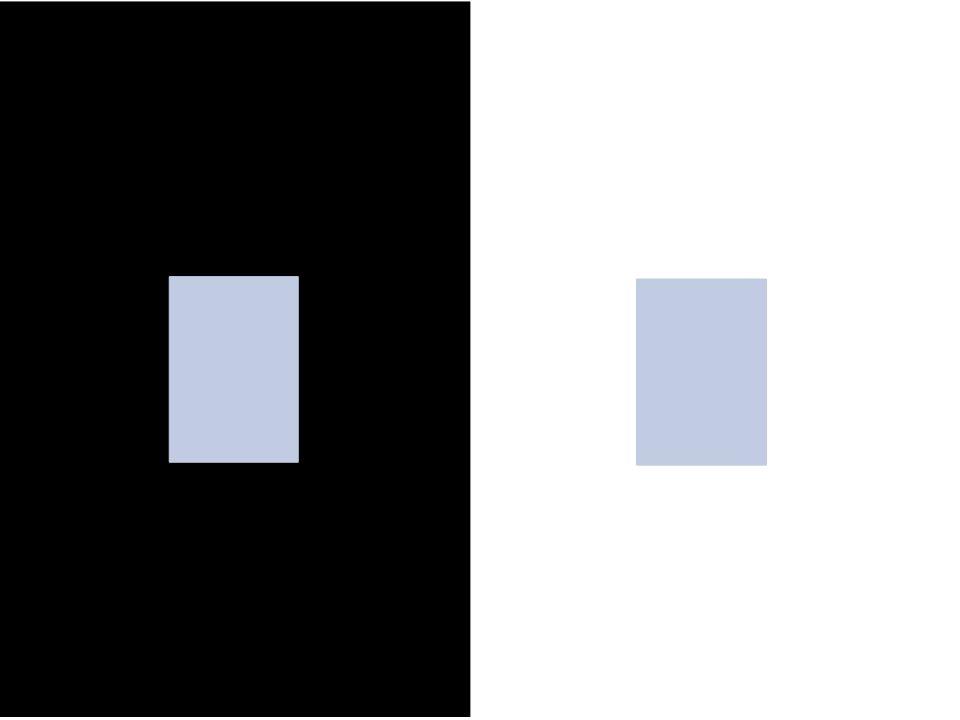 Assimilation the brightness of a stimulus covaries with the brightness of a surrounding stimulus