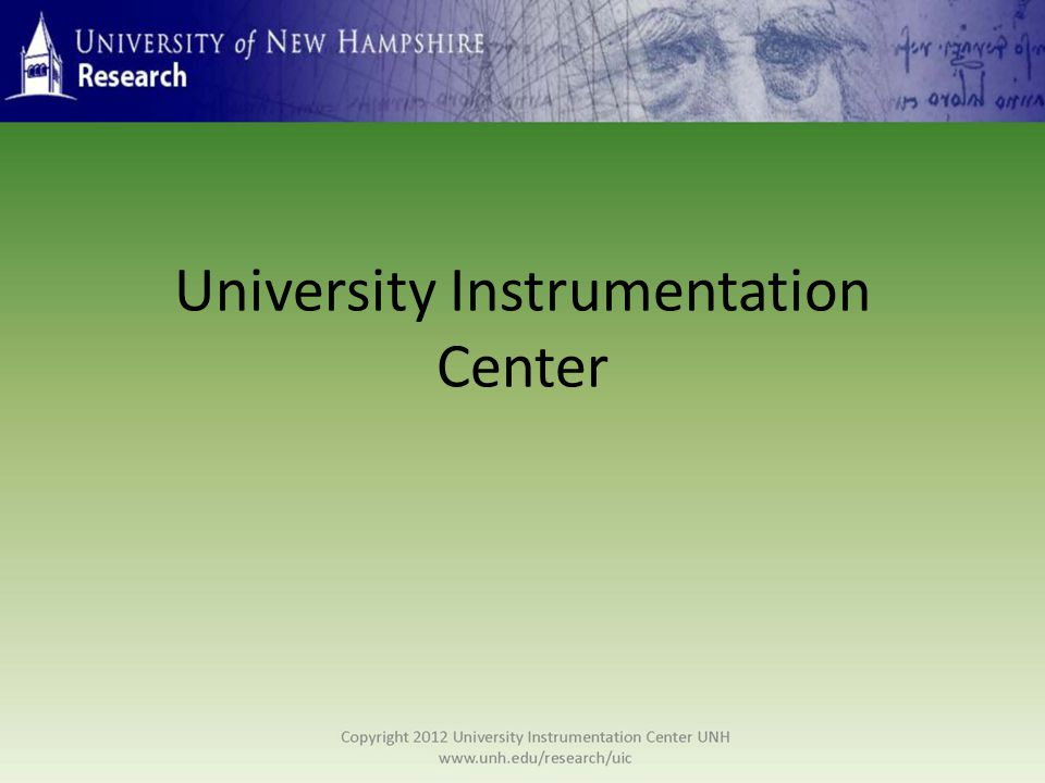 Established in 1973 in response to the challenges of acquiring, operating, and maintaining costly scientific equipment, the center offers direct and easy access to state- of-the-art instrumentation for both research and educational purposes.