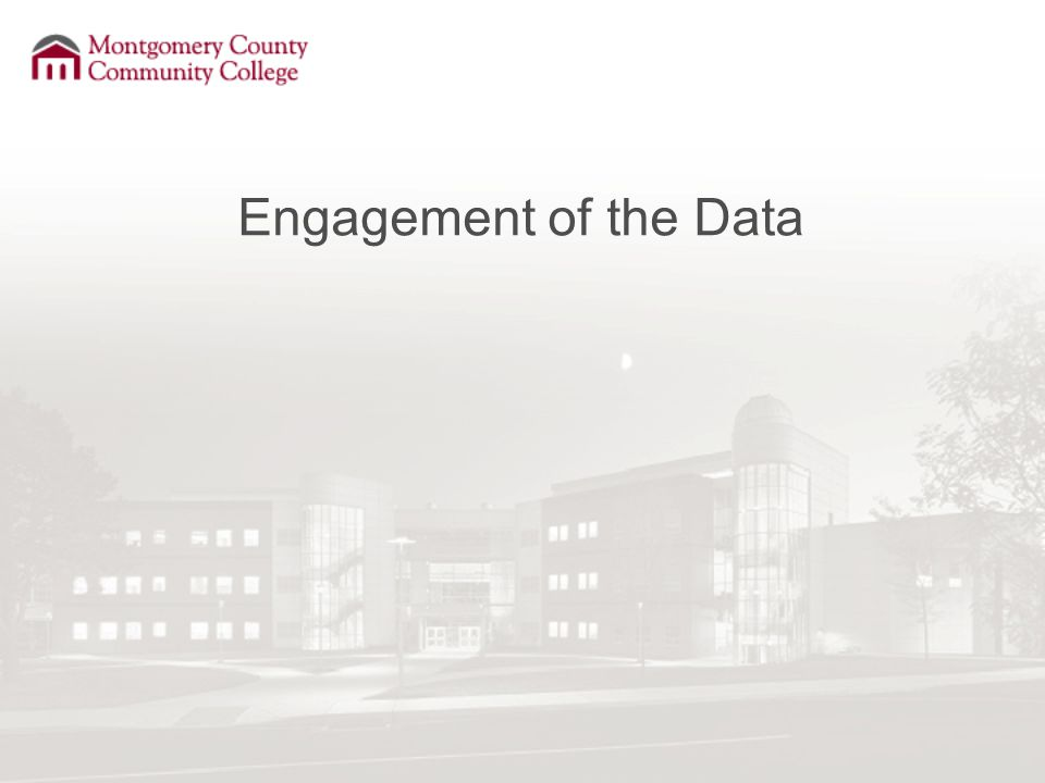 Engagement of the Data