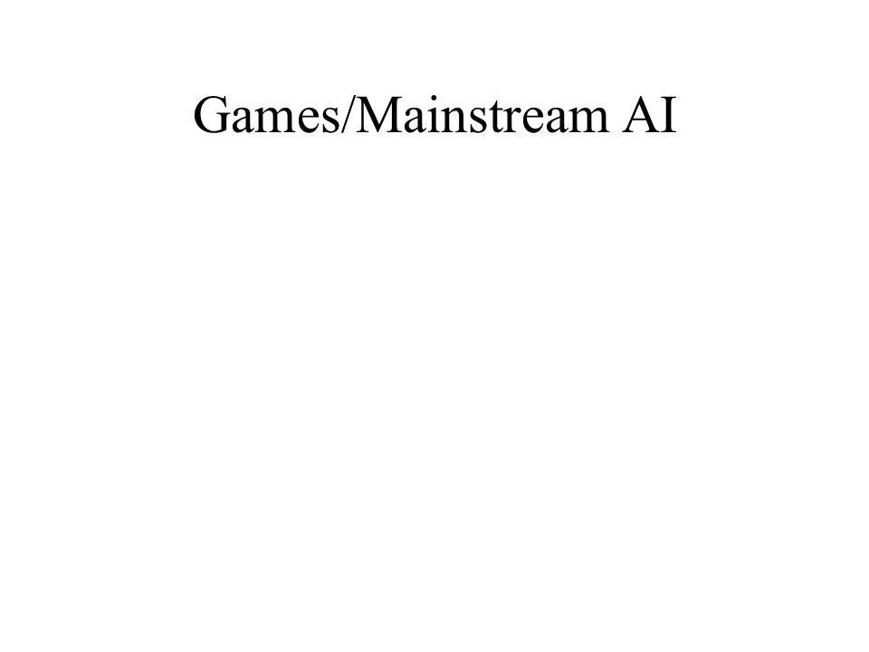 Games/Mainstream AI