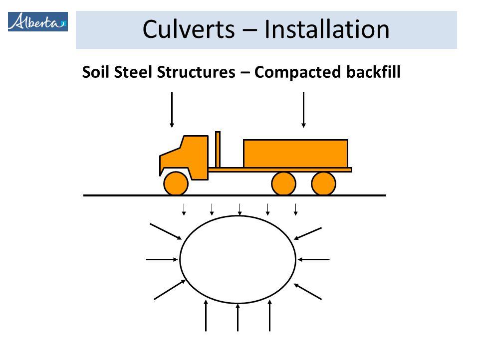 Culverts – Installation NO CAMBER