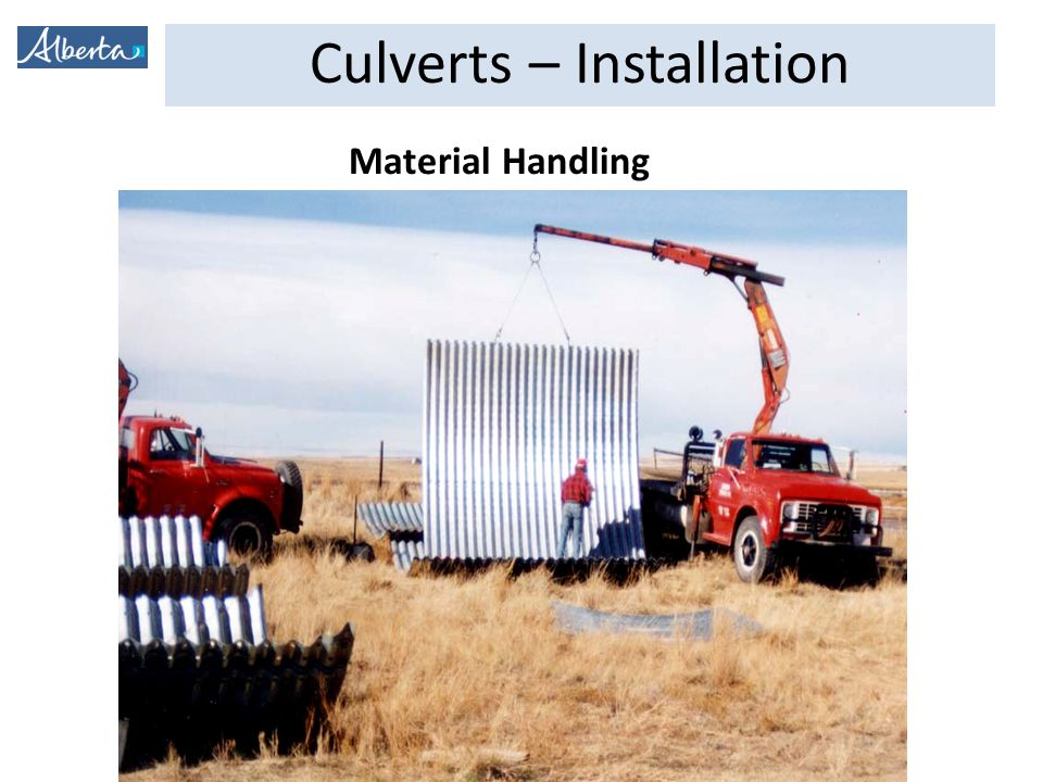 Culverts – Installation CSP Pipe Assembly