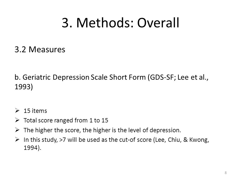 4.Stage 1: Scale Validation - Methods 4.1 Pre-test a.