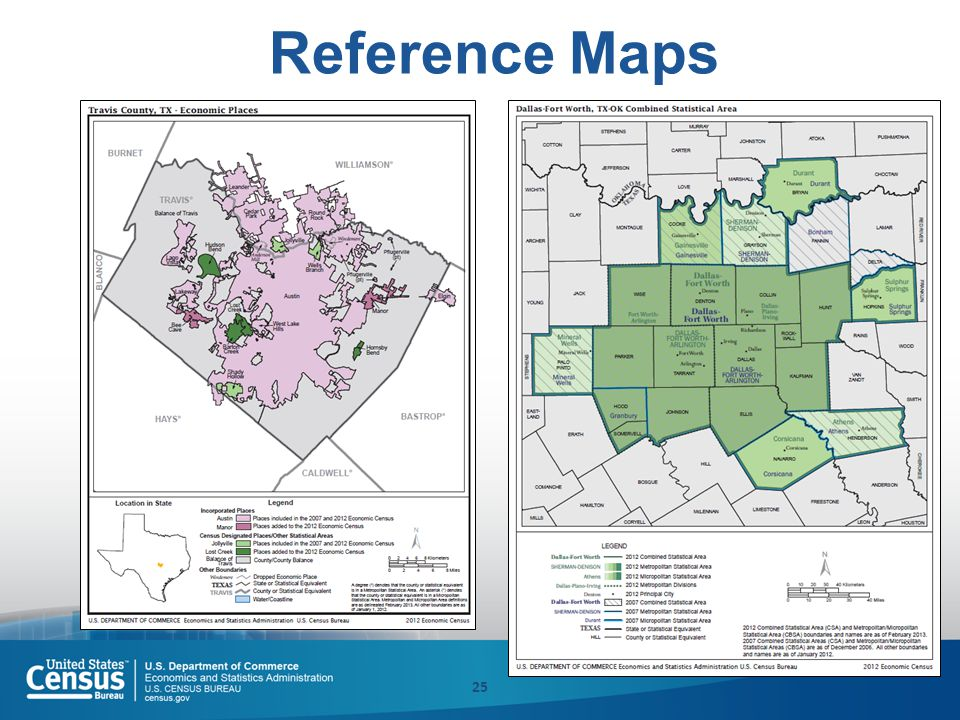Reference Maps 25