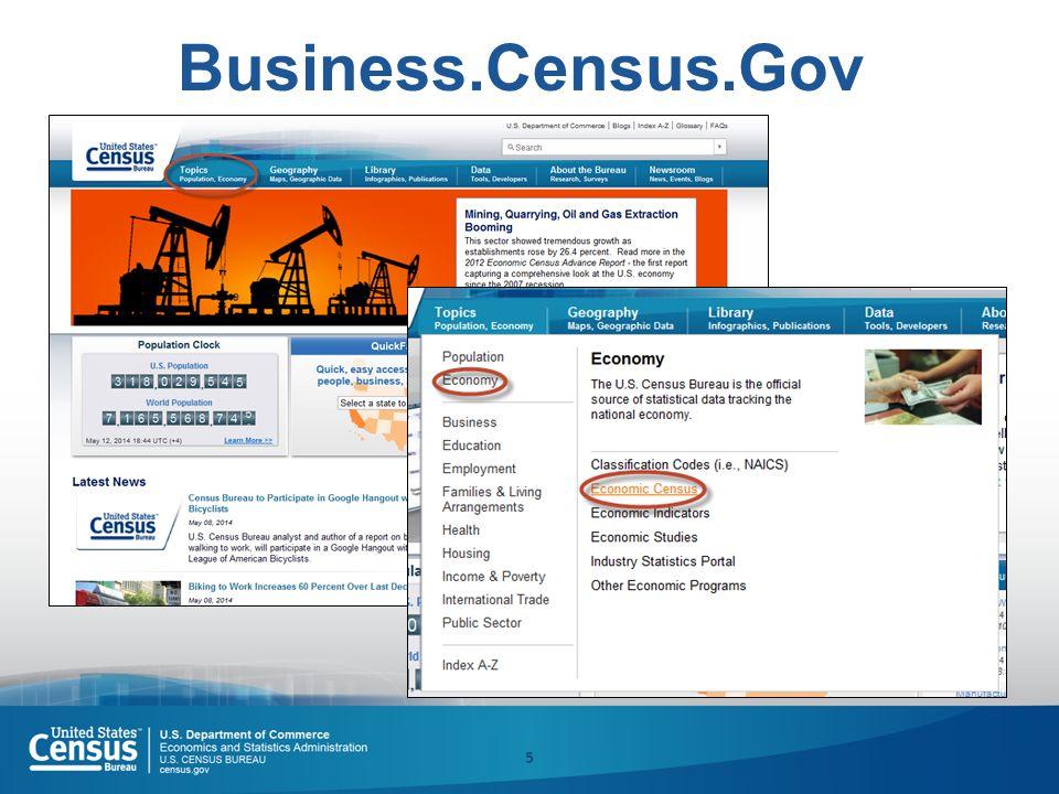 5 Business.Census.Gov