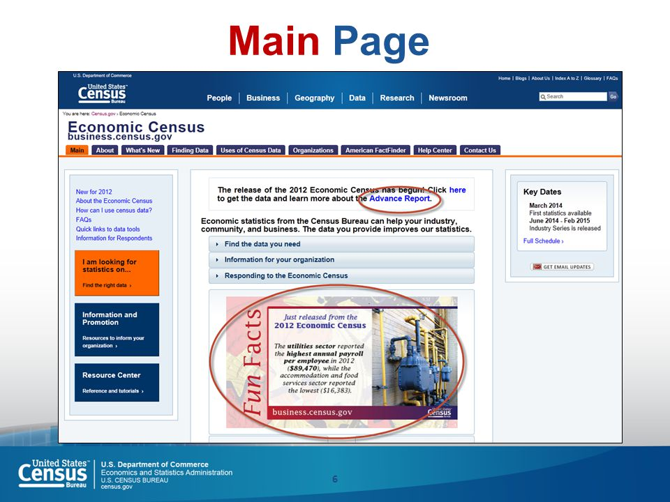 6 Main Page