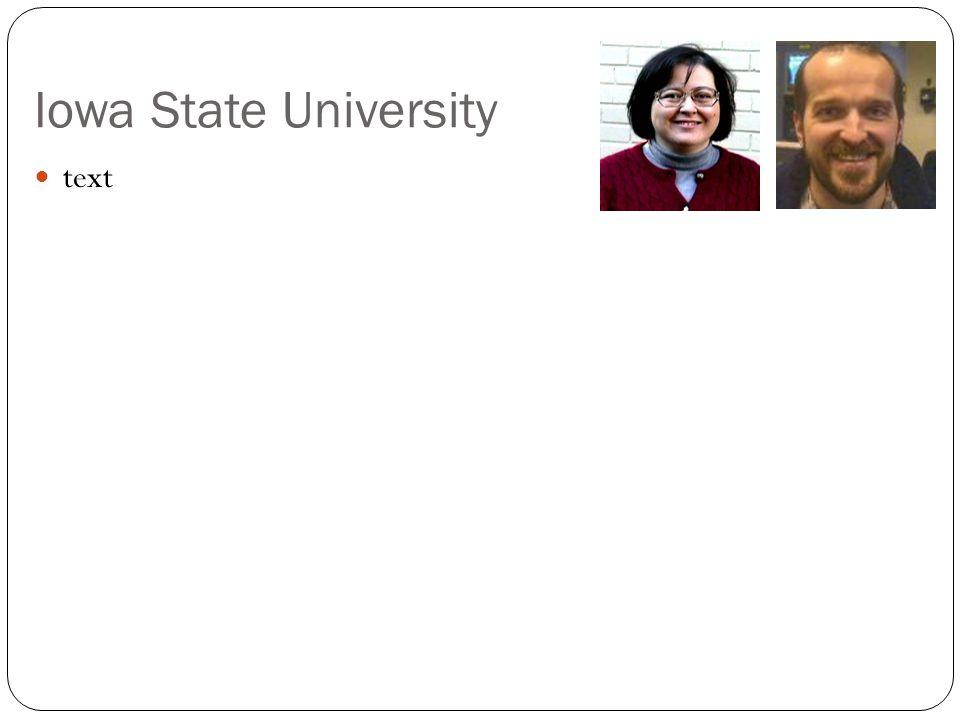Iowa State University text