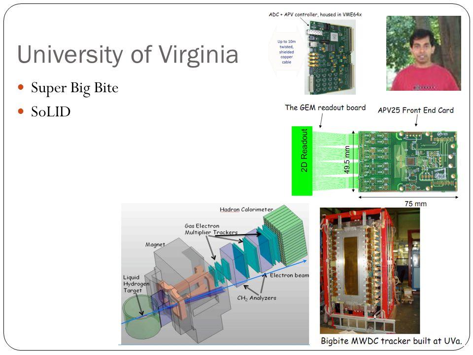 University of Virginia Super Big Bite SoLID
