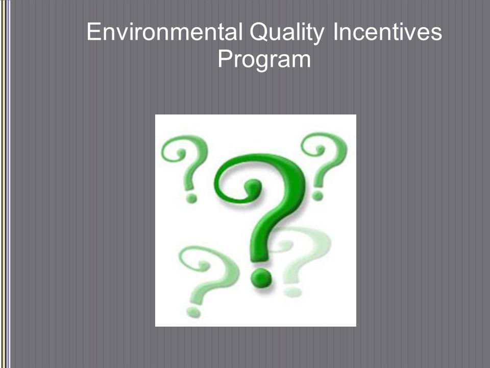 Environmental Quality Incentives Program