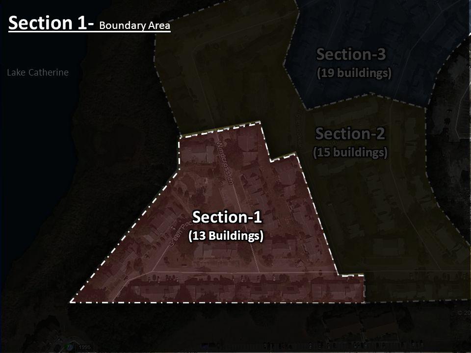 Section 1- Boundary Area Lake Catherine