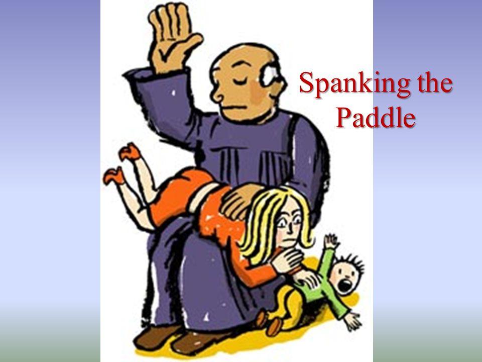 Spanking the Paddle