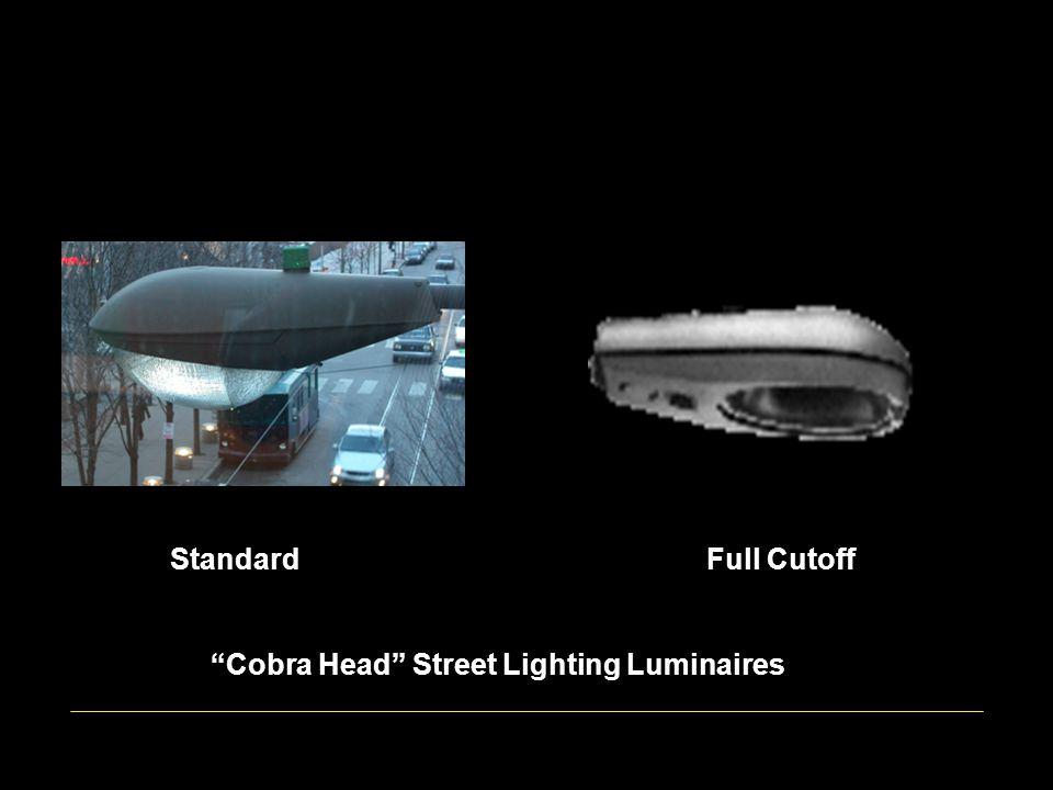 Standard Full Cutoff Cobra Head Street Lighting Luminaires