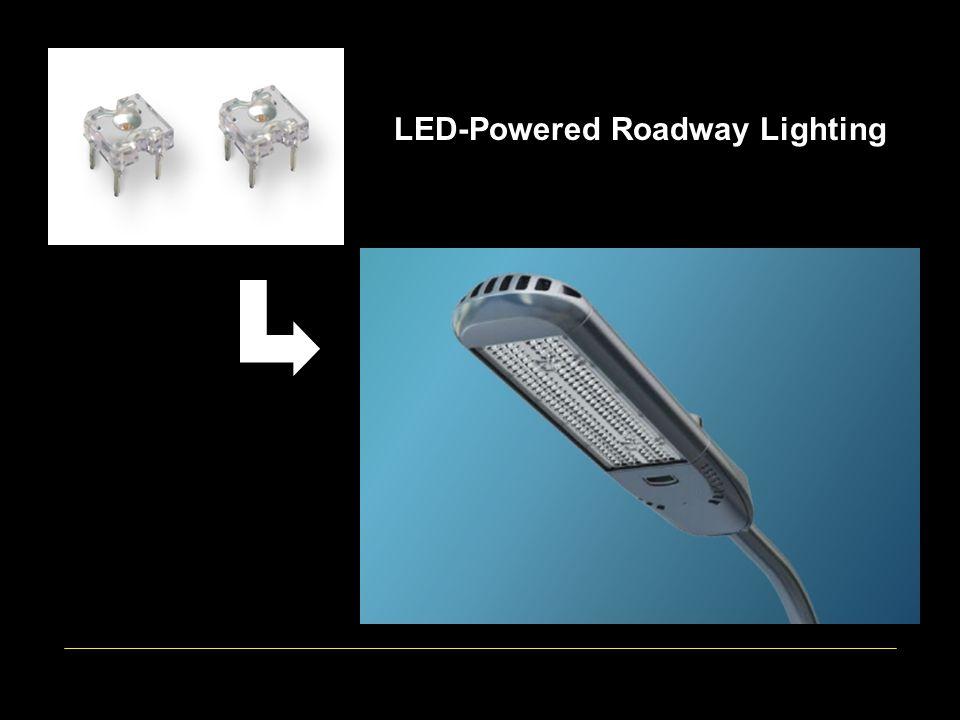 LED-powered Roadway Lighting LED-Powered Roadway Lighting