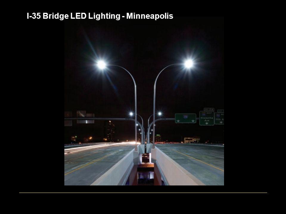 I-35 Bridge LED Lighting - Minneapolis