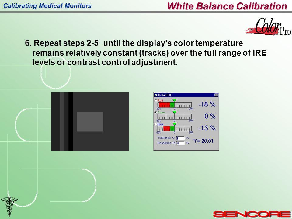 Calibrating Medical Monitors 6.