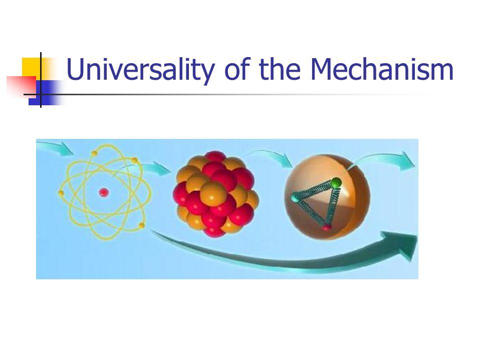 Universality of the Mechanism