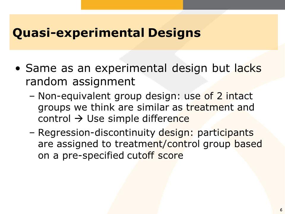 7 Regression-discontinuity design 7