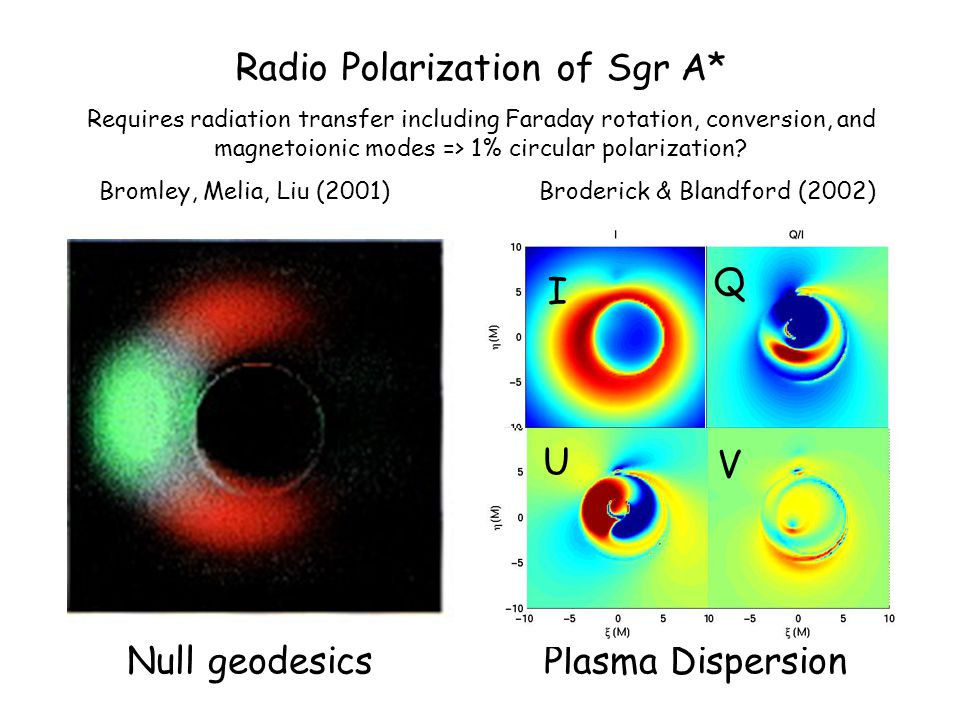 Radio Polarization of Sgr A* Requires radiation transfer including Faraday rotation, conversion, and magnetoionic modes => 1% circular polarization.
