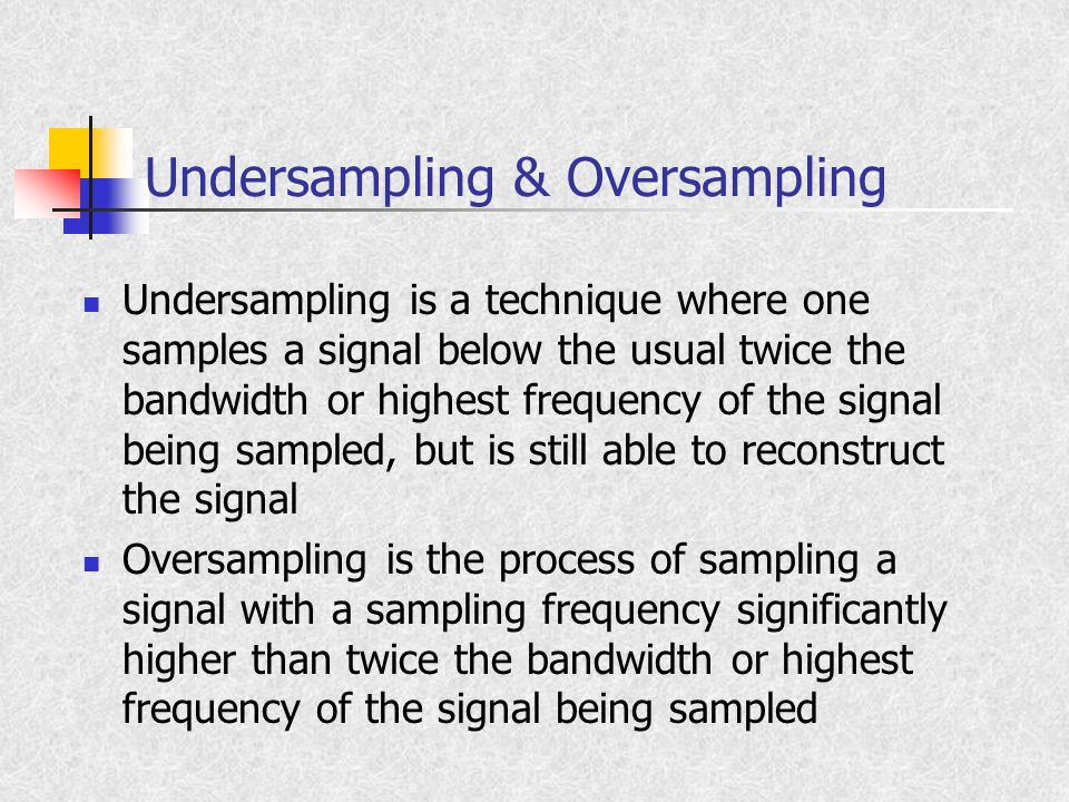 Aliasing Aliasing refers to an effect that causes different continuous signals to become indistinguishable (or aliases of one another) when sampled It also refers to the distortion or artifact that results when the signal reconstructed from samples is different than the original continuous signal