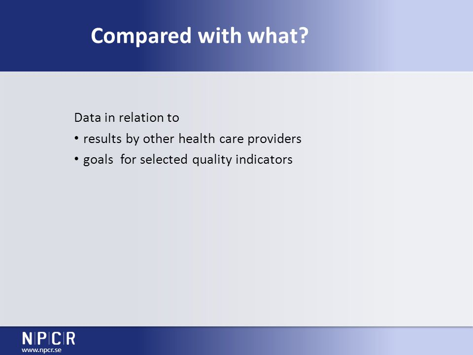 Conclusion  real time online reporting from quality register feasible  valuable tool for quality assurance  linkages can efficiently provide data for audits