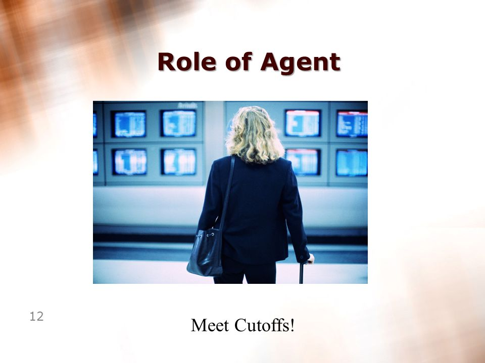 11 Role of Agent Pay Drivers Accurately!