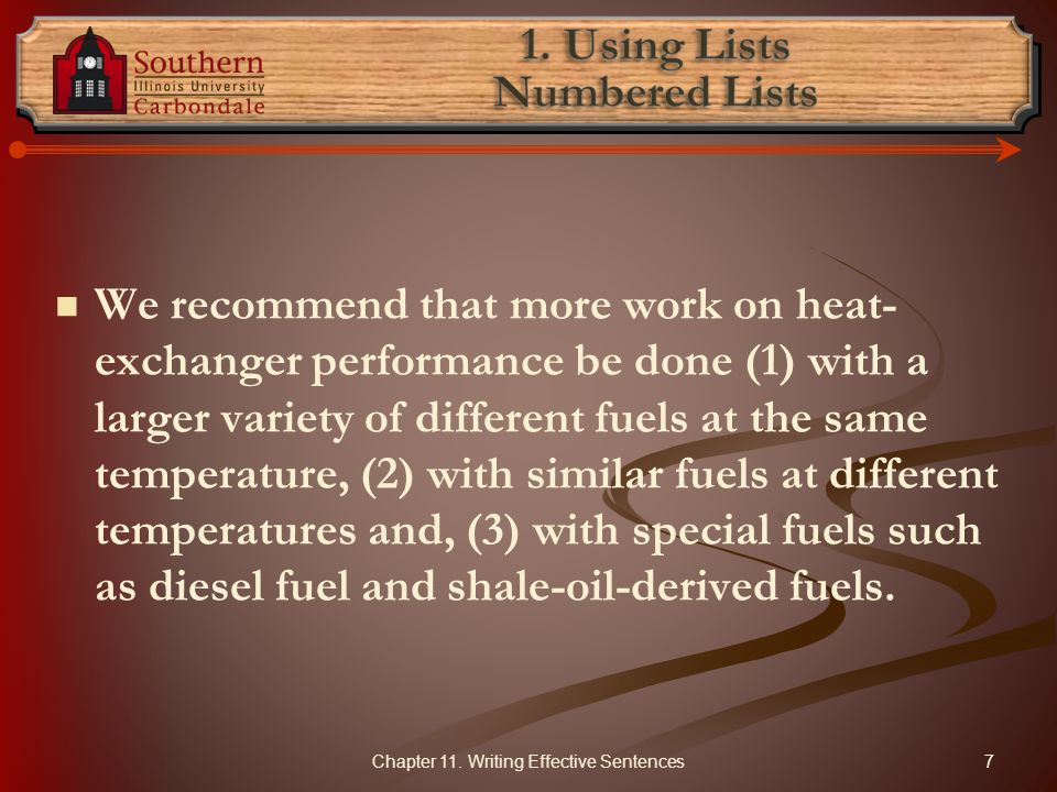 We recommend that more work on heat- exchanger performance be done (1) with a larger variety of different fuels at the same temperature, (2) with similar fuels at different temperatures and, (3) with special fuels such as diesel fuel and shale-oil-derived fuels.