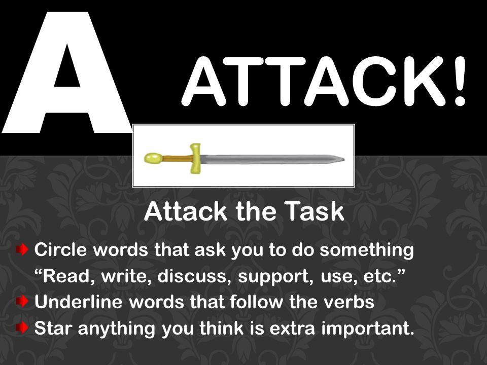 A ATTACK.