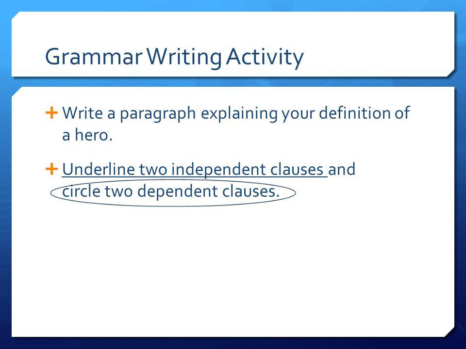 When do I underline. Italics and underlining generally serve similar purposes.