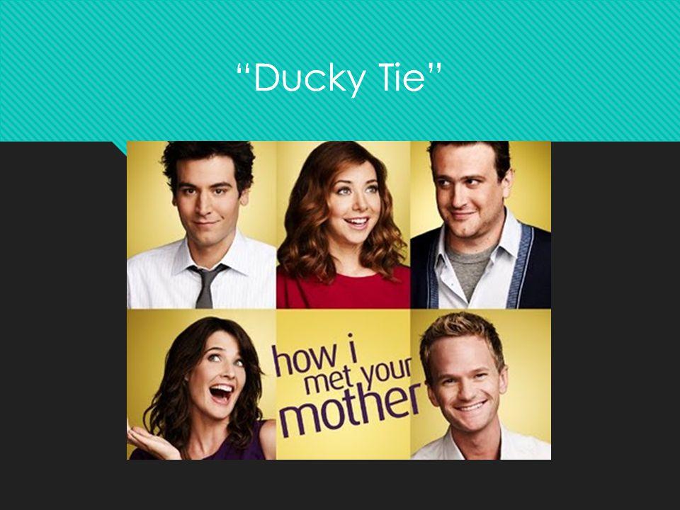 """Ducky Tie """"Ducky Tie"""""""