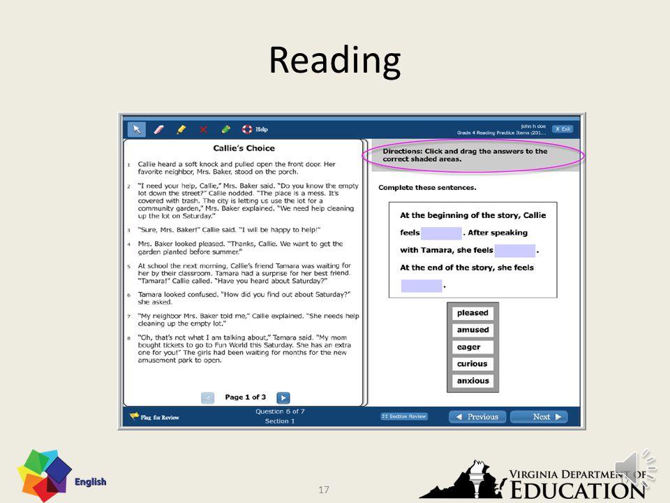 16 Reading 16