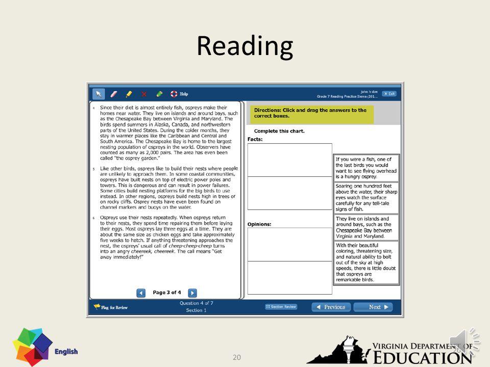 19 Reading 19