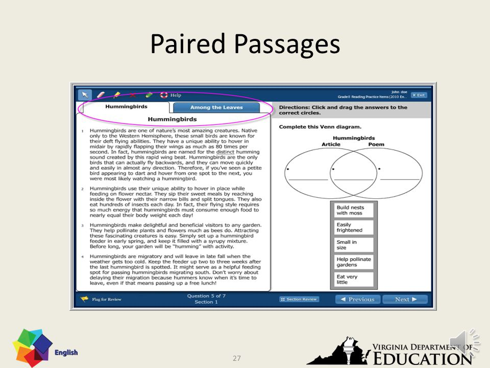 26 Paired Passages 26