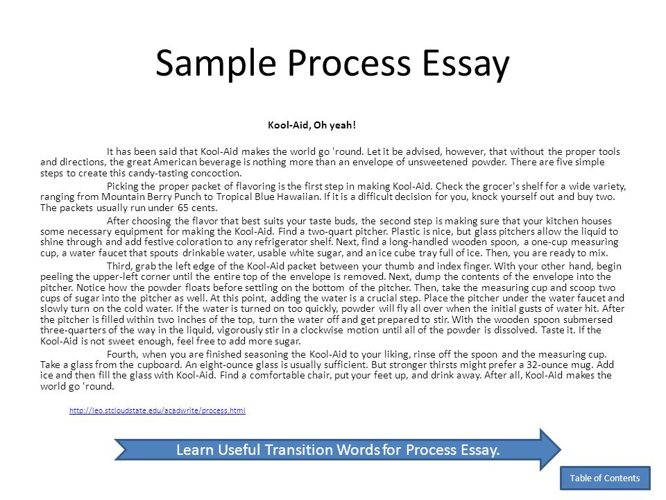 process essay samples co process essay samples