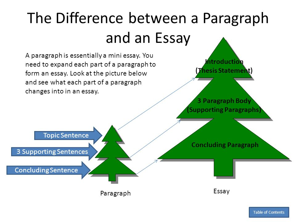 Outline: Parallelism Parallelism means that all the head topics in an outline should agree in form, i.e., if you use a noun in the first head, the rest should be nouns, if you use a verb, the rest should be verbs, etc.