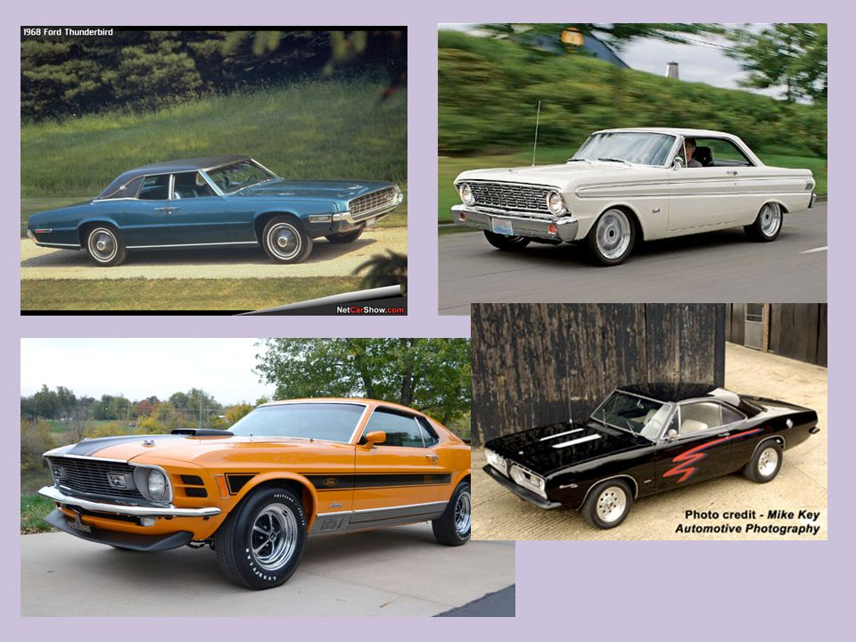Cars of the 1970s: Rabbit, Pinto, Colt, Civic, Starlet, Gremlin.