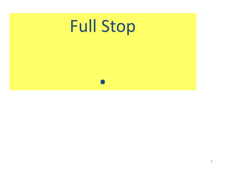 Full Stop. 6