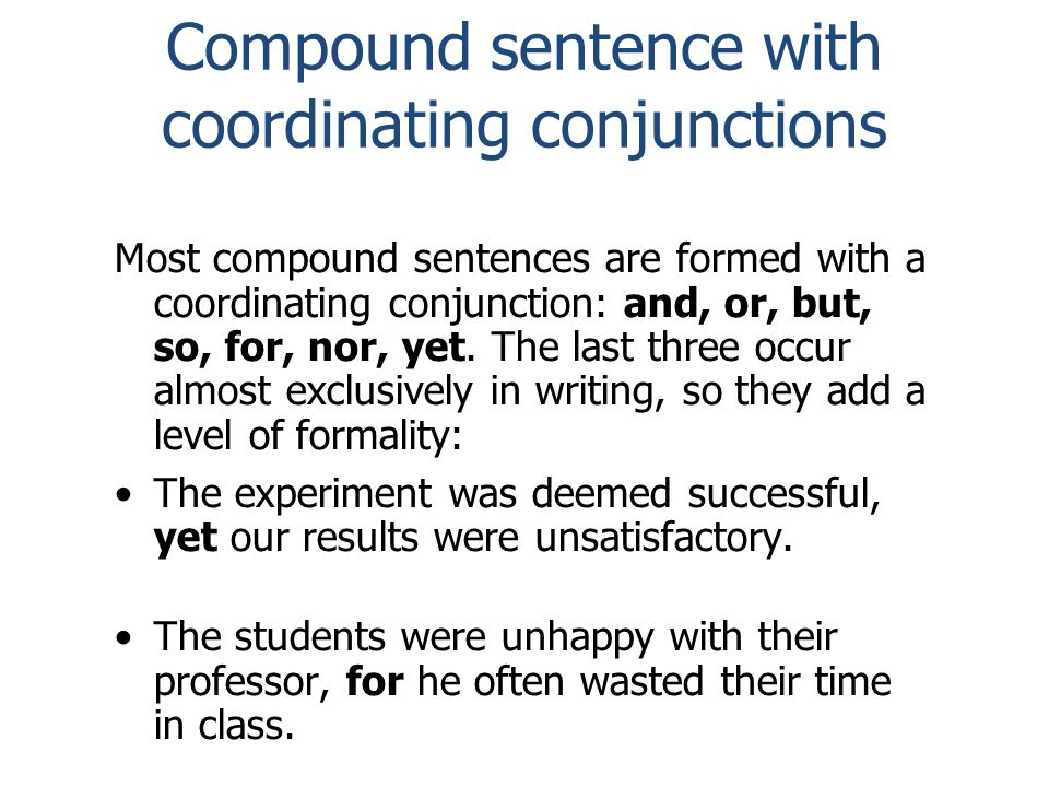What are three ways to combine/punctuate sentences.