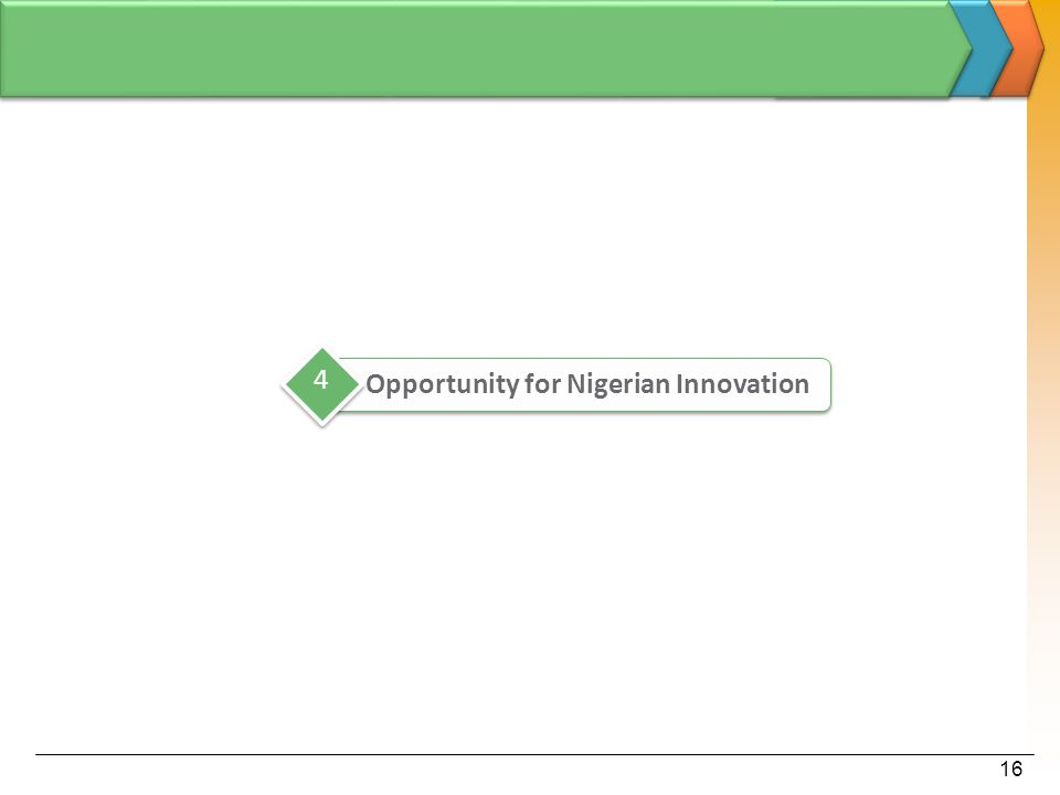 16 Opportunity for Nigerian Innovation 4