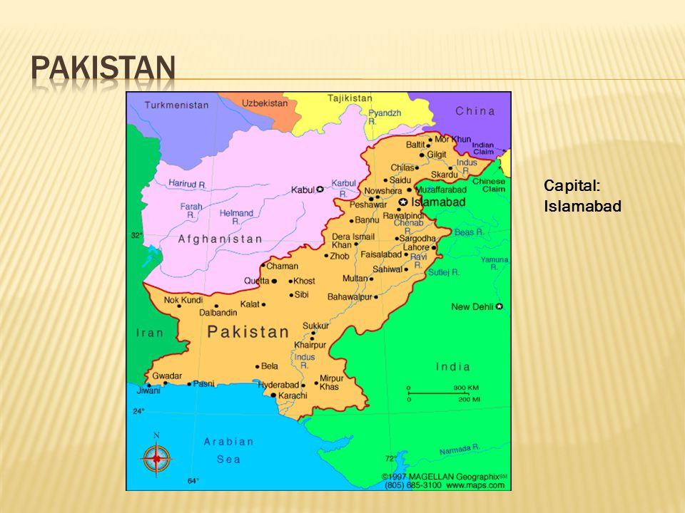 Capital: Islamabad