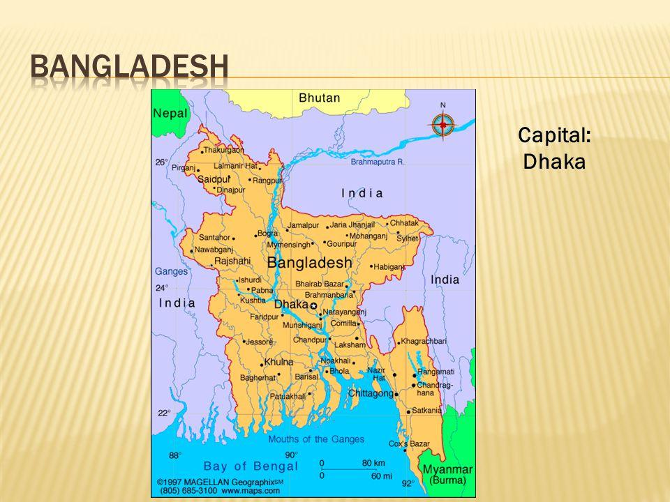 Capital: Dhaka