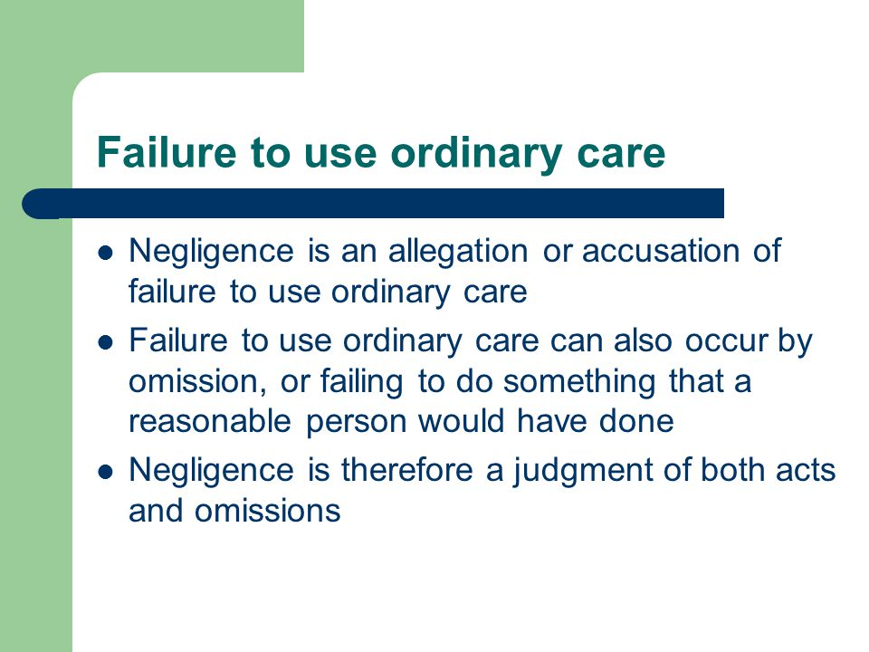 Negligence which harms another unjustifiably is not only a tort in itself, it is also a condition of liability for tort.