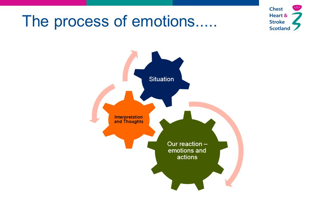 The process of emotions.....