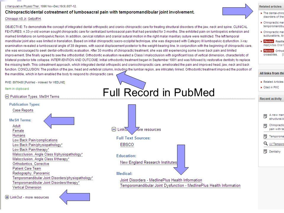Full Record in PubMed